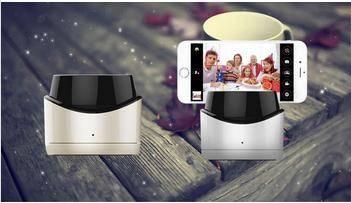 Self Selfie Stick Handheld Monopod +Clip Holder+Bluetooth Camera Shutter Remote Controller