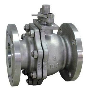 cast steel ball valve floating type flange end
