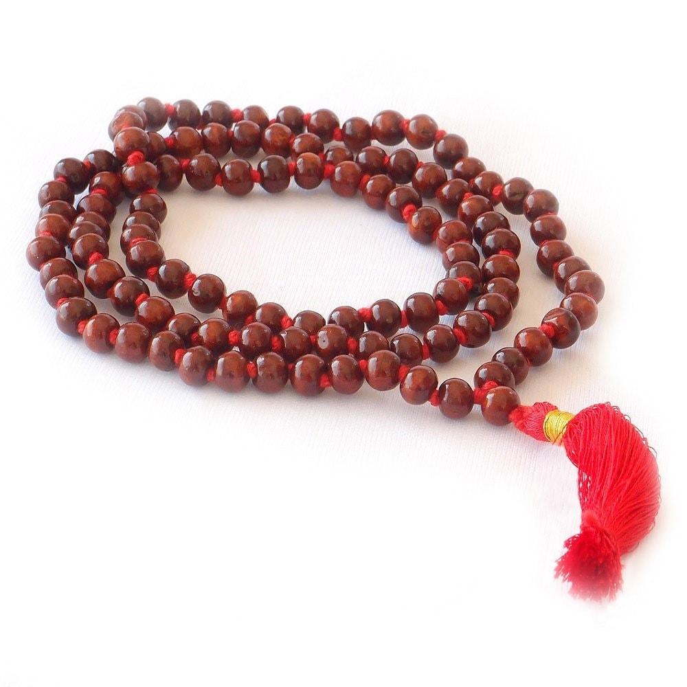 Mala Beads - Rose Wood