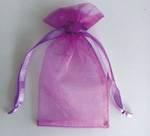 Eco-friendly organza drawstring bag,organza pouch wholesale