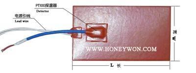 Silicone Rubber Heaters silicone rubber heater silicone flexible heaters silicone flexible heater