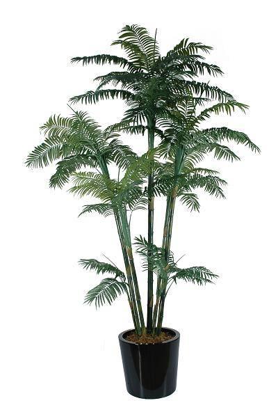 Plastic Artificial Palm tree bonsai plant