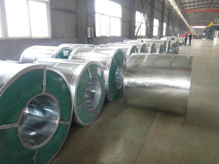 Z80 hot dipped galvanized steel coil