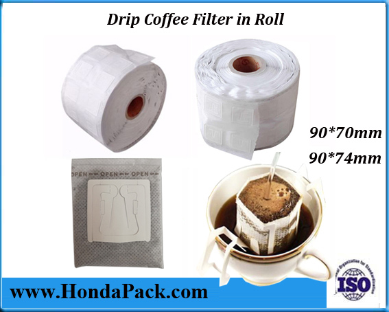hanging ear drip coffee bags filters for packaging machine