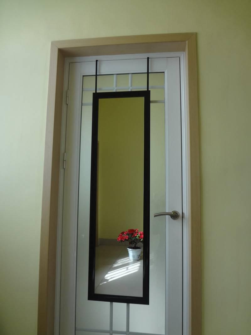 plastic hanging over the door mirror (SHINY GREY),