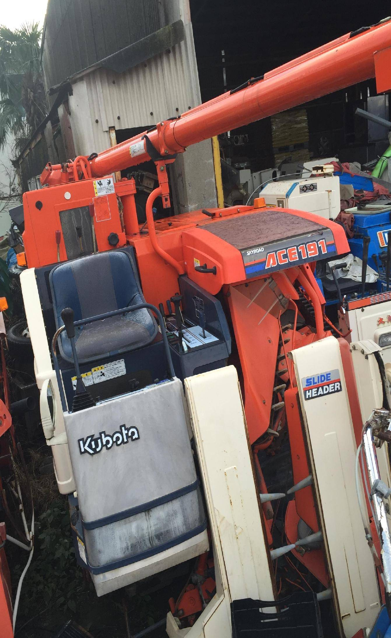 Used combine harvester Kubota R1-191G