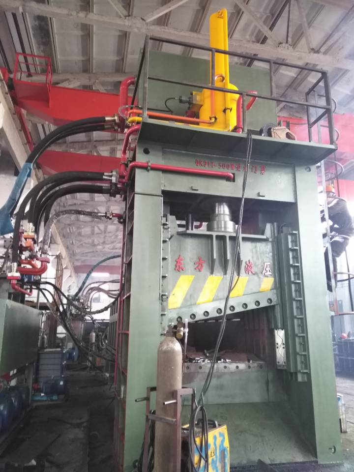 Durable Car Scrap Baler Shear with Factory Supply