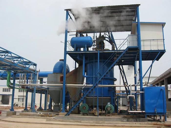 Single-Section gasifier
