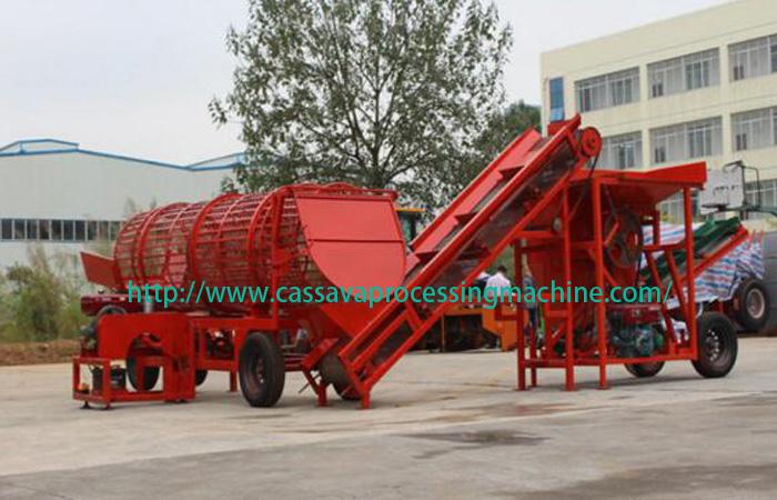 10 tons per hour cassava chips machine