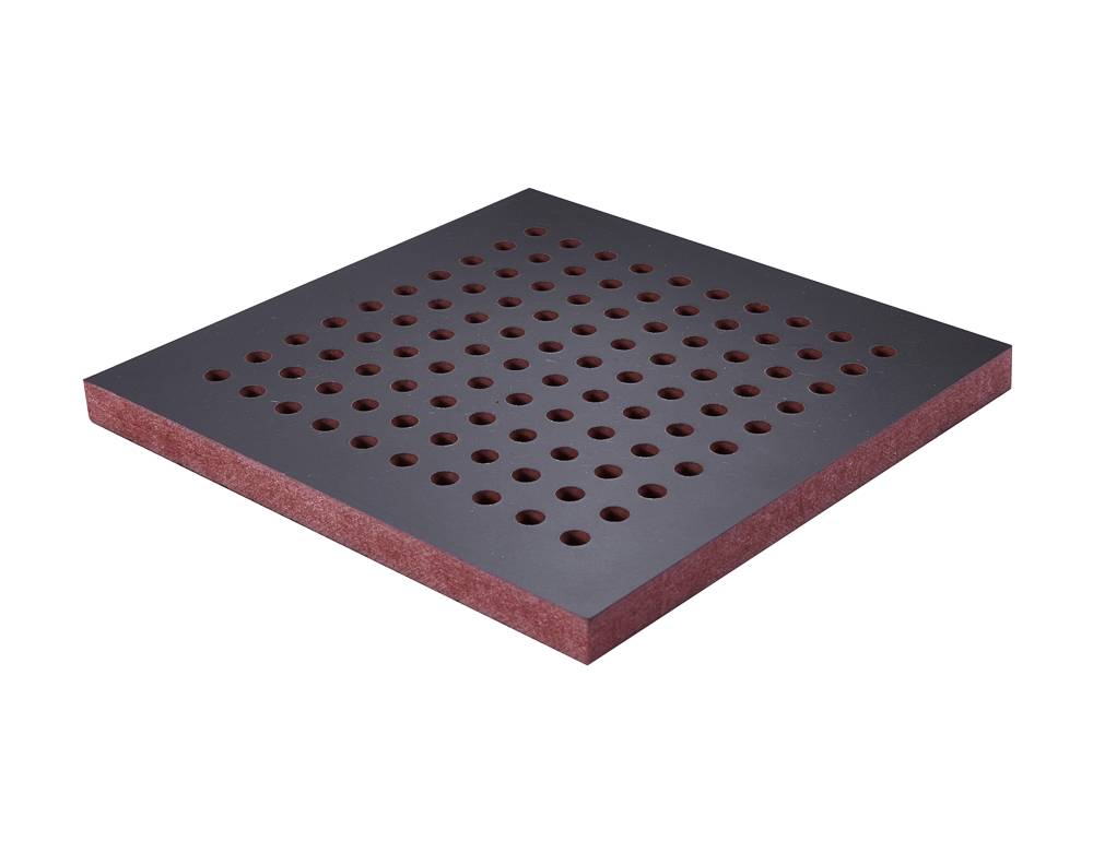 wood soundproof boards with melamine surface