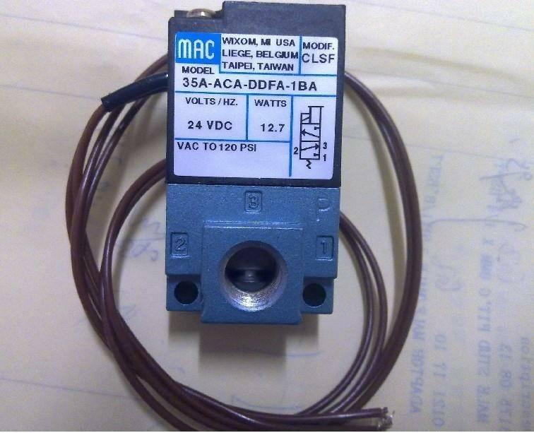 MAC 711C-11-RA 6611A-211-PM-122DA 811C-2E-120EA-