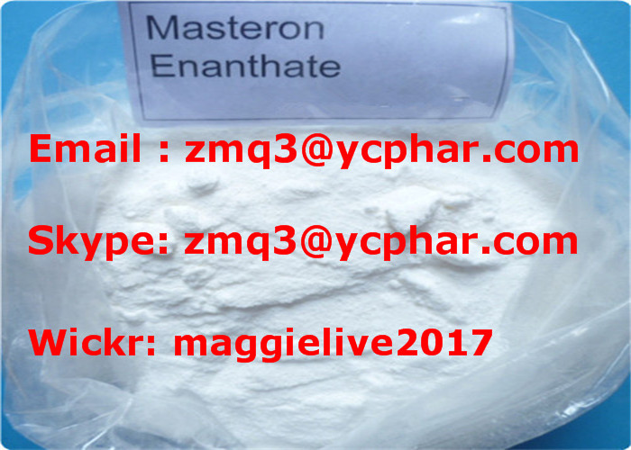 Drostanolone Enanthate CAS: 521-12-0 Anabolic Steroid Powder