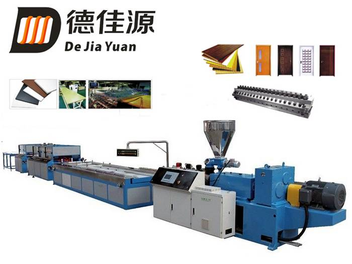 Plastic pinch board/ceiling extrusion production line