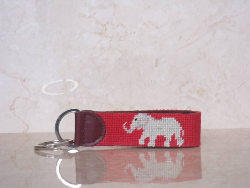 Needlepoint Key Chains, Leather Key Fobs Manufacturer