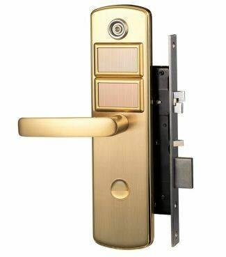 digital solar lock smart swipe card key wireless new