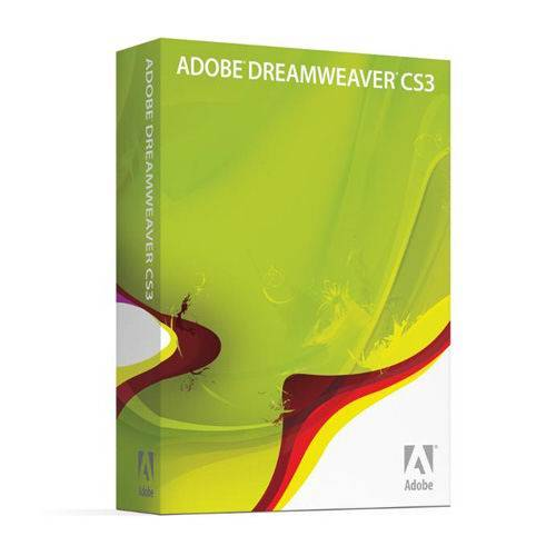Adobe dreamweaver cs3 retail box