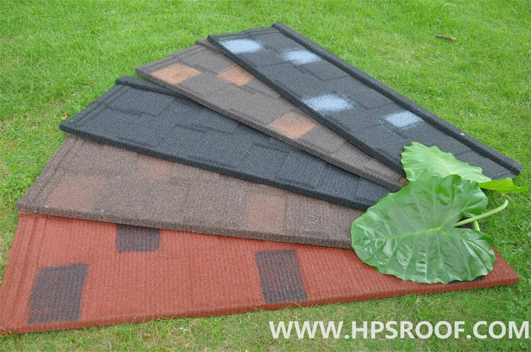 Happiness modern stone coated roof tiles high quality