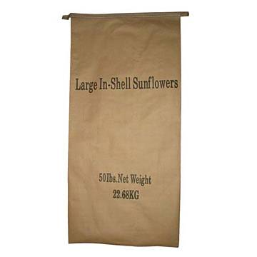 Open-top sewn sacks for cement, dried mortar , plaster and chemicals