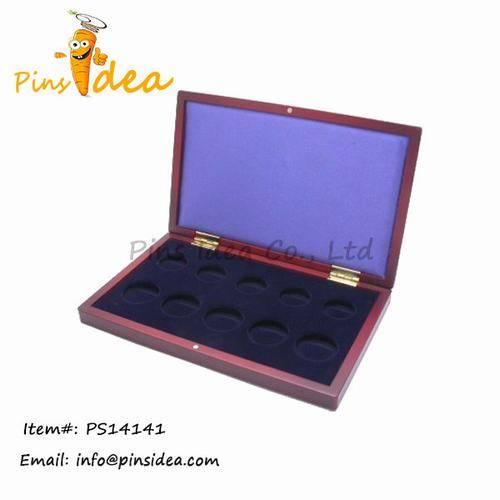 Wooden Coin Case