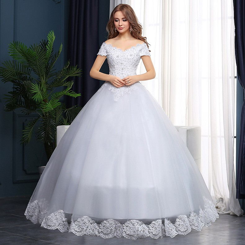 Hot princess wedding dress 2016 plus size fashionable cheap wedding dresses wedding gown