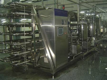 UHT Tubular Sterilization Machine Sterilizing Machine