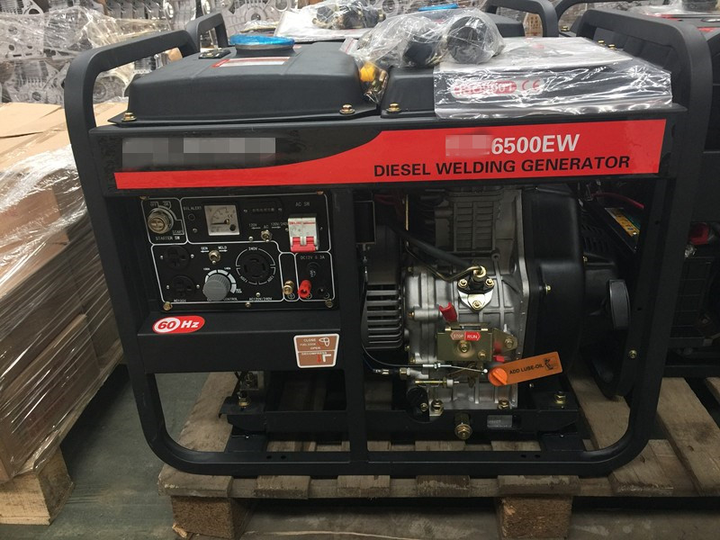 Dual Function Air Cooled Generator, Welding Generator