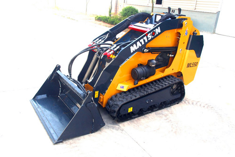 2017 NEW MINI TRACTOR SKID STEER LOADER 50HP THE MACHINE FOR SALE WITH KUBOTA