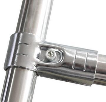 pipe rack metal joint