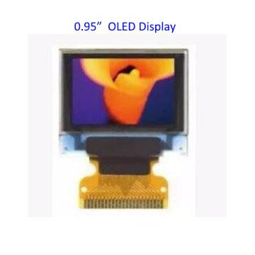 0.95 inch 7pin Full Color 65K Color ssd1331 OLED Display 3.3v 5v Serial SPI