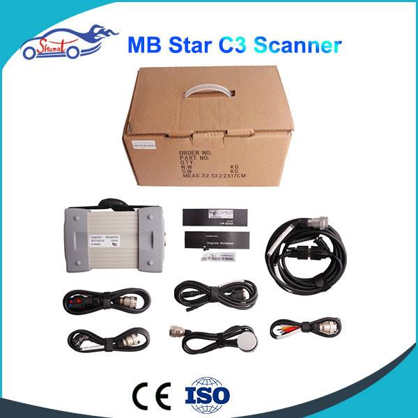 Mb Star C3 Pro With Seven Cable For Truck and Cars Update To V2014.09 Truck Diagnosis Car Scanner To
