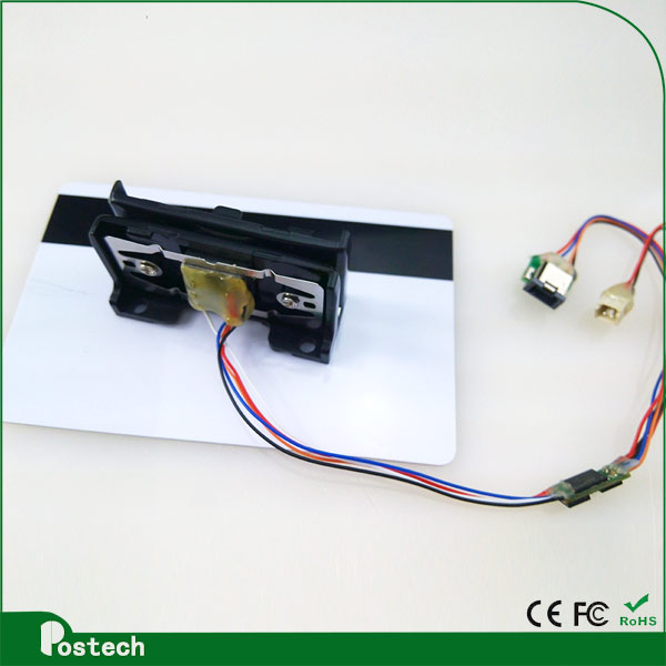 MSR009 postech 3mm magnetic head computer card reader with 2 years warranty