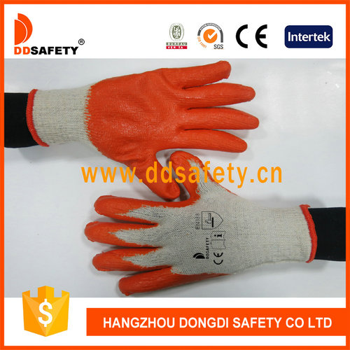 Knitted with latex glove-DKL312