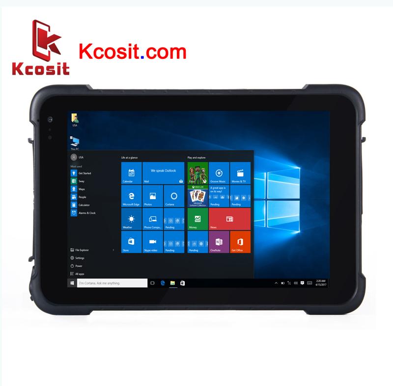 "K86 Rugged Windows 10 Waterproof Car Tablet PC Pro IP67 Shockproof 8"" inch 1D 2D Barcode Scanner"