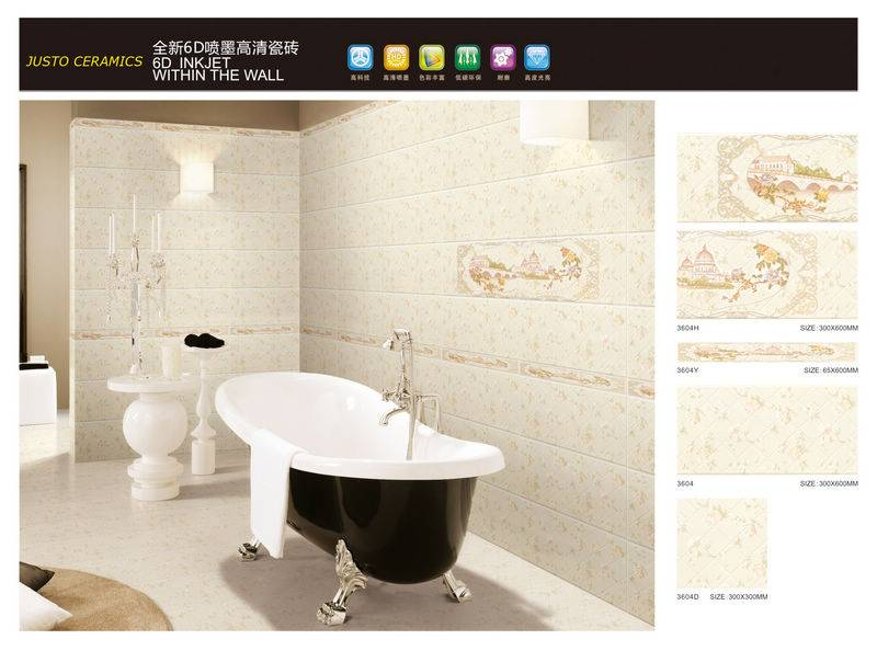 inkjet printing ceramic wall tiles