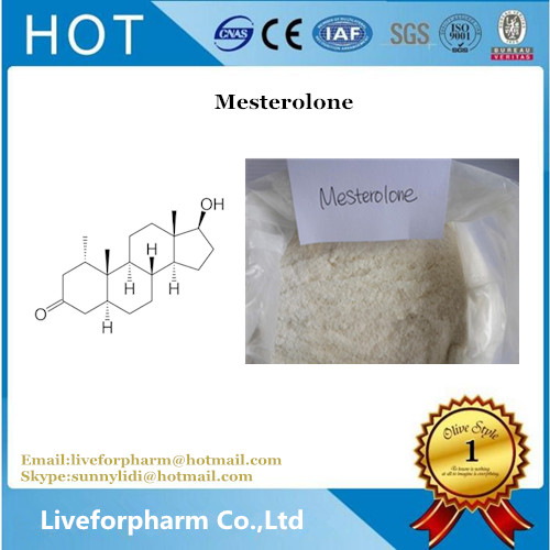 Top Quality Steroid 99% Steroid Powder Mesterolone Proviron CAS 1424-00-6