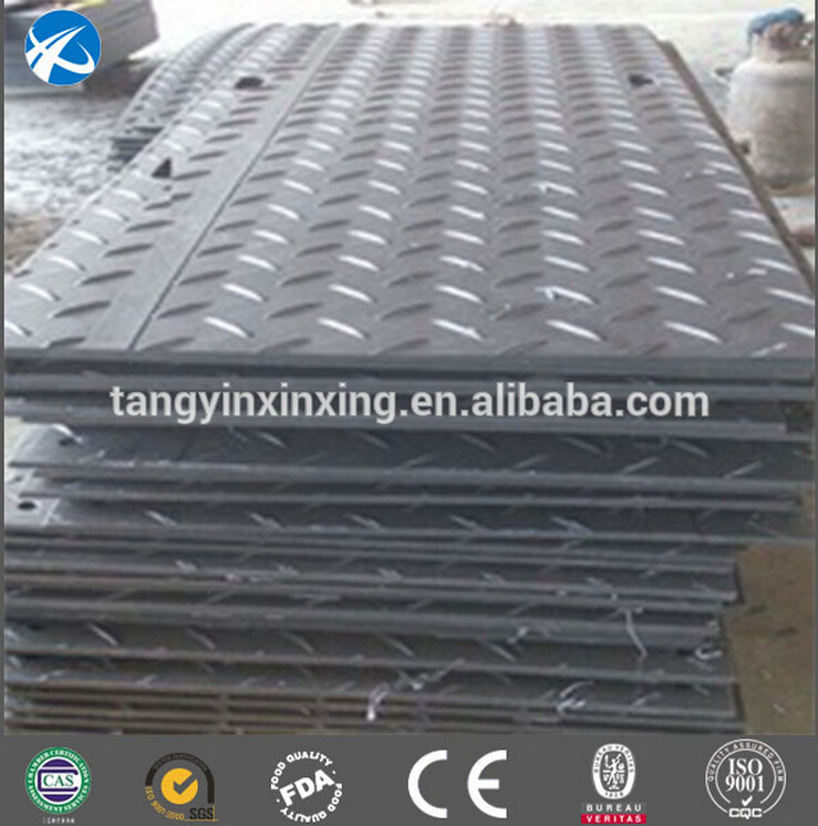 anti-slip and industrial uhmwpe earthing sheet mats