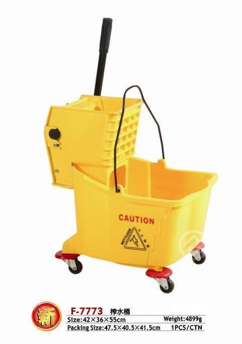 Wringer cart/Plastic Wringer cart/Yellow Wringer cart