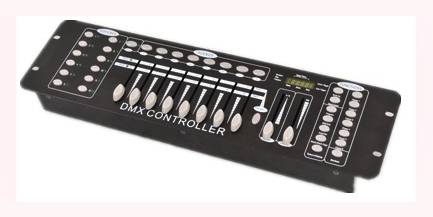 192ch DMX controller for computer lights AMT-8006