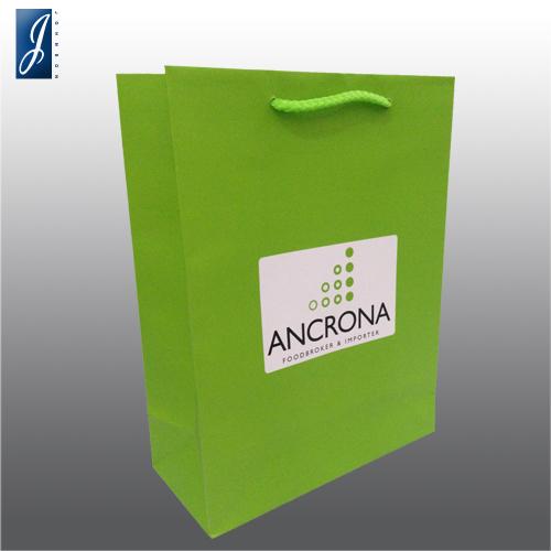 Customized medium gift bag for ANCRONA