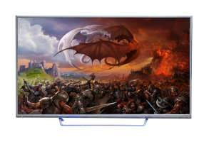 "50 "" Smart 3D LED Ultra HD TV"