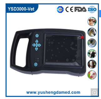 Ce Approved Medical Equipment Handheld Ultrasonic Diagnosis Scanner Veterinary UltrasoundYSD3000-Vet