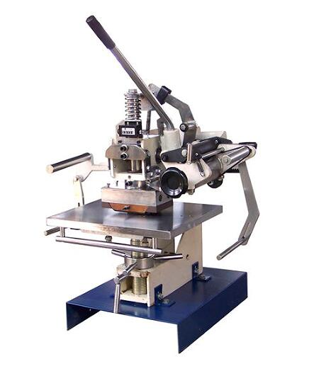 Small manual hot stamping machine for paper,leather