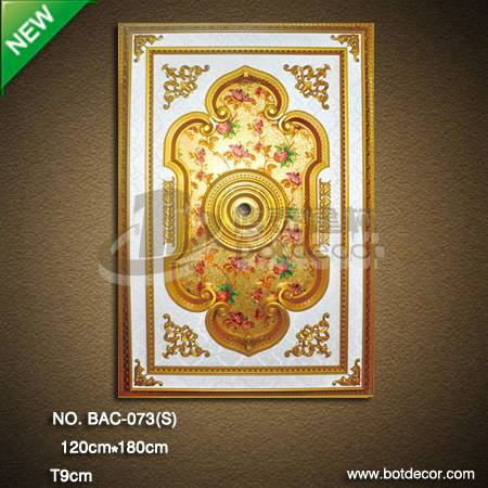Interior Building Decorative Artistic Ceiling panel
