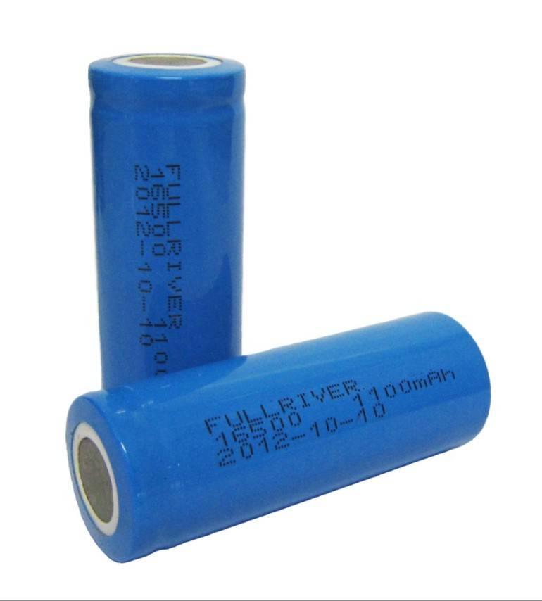 Lithium Battery 16500C5C 3.7V 1100mAh