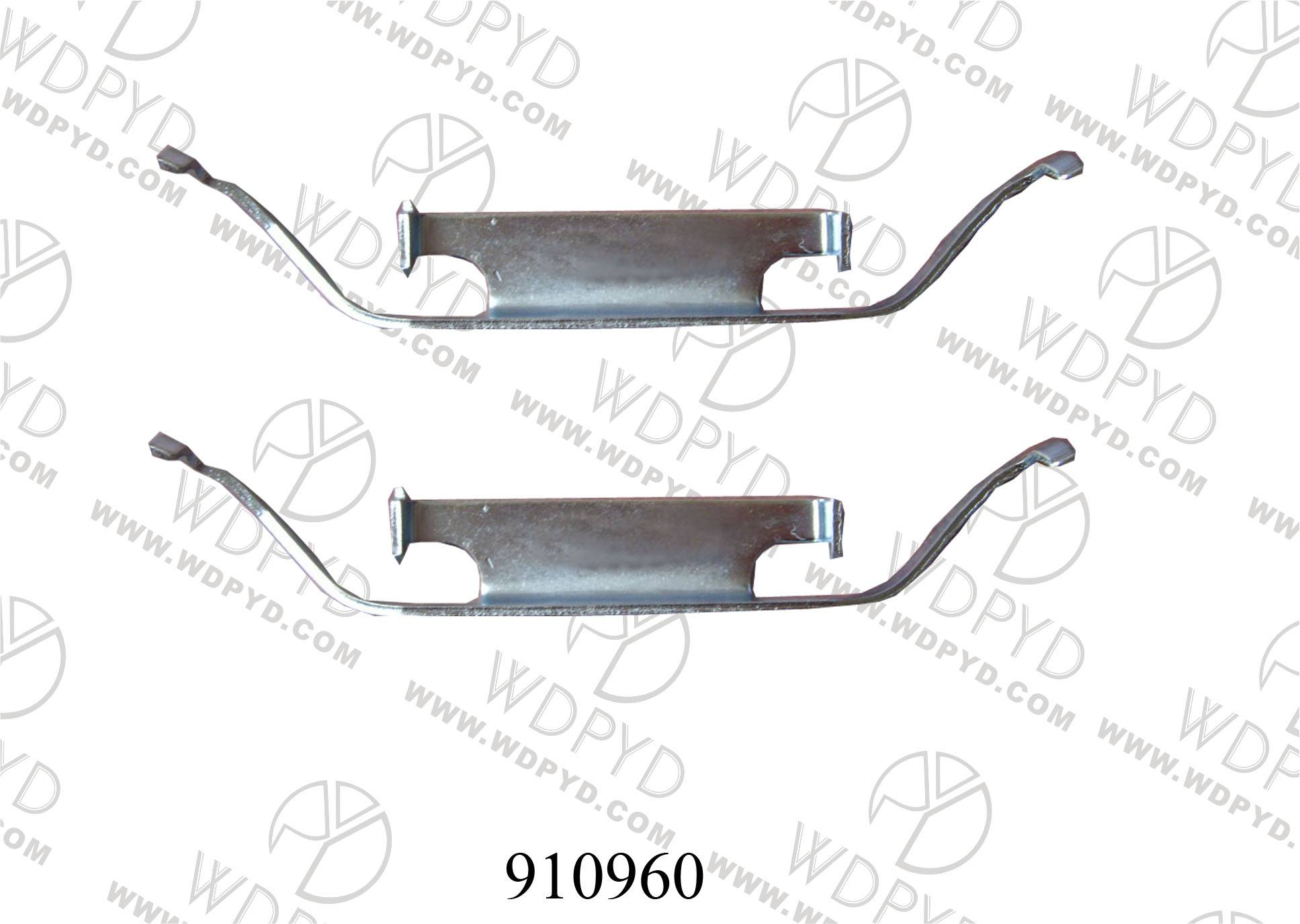 WELLDE DISC BRAKE PAD CLIP 910960 FOR FRONT BMW M3 1994-1998