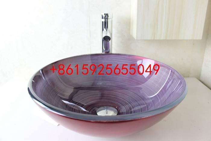 bathroom basin,glass sink,wash basin vessel sink wash sink bathroom cabinet sink n-738