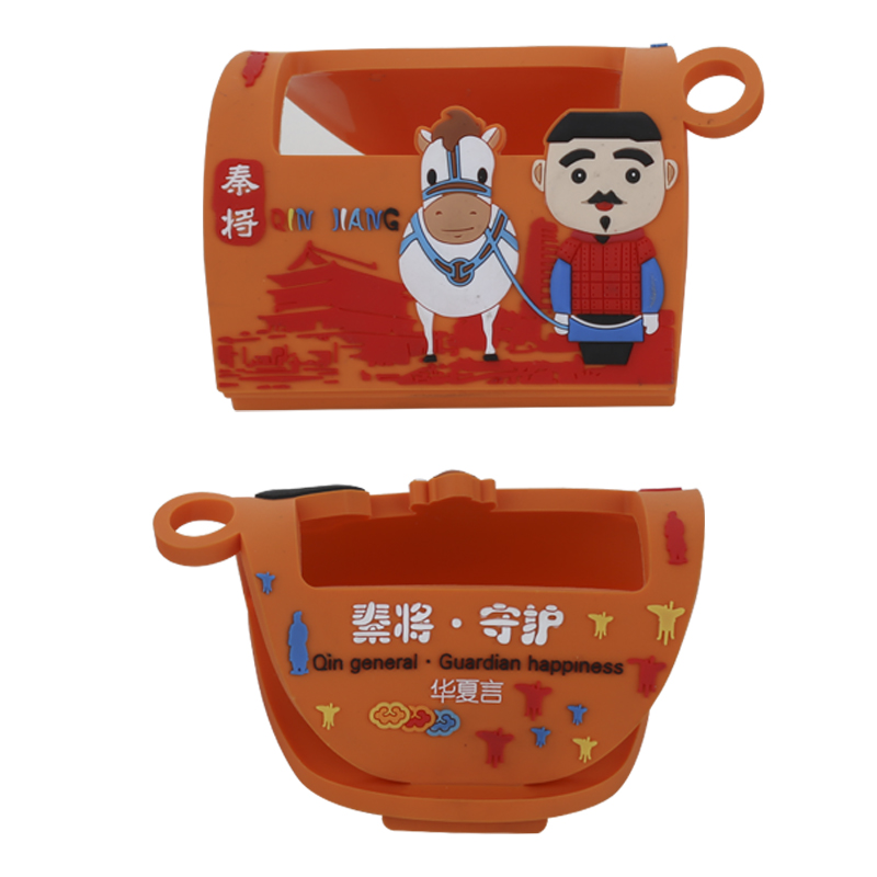 3D soft PVC cartoon phone holder