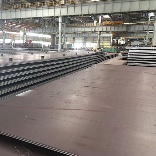 High strength ASME SA588 corrosion resistant steel plates