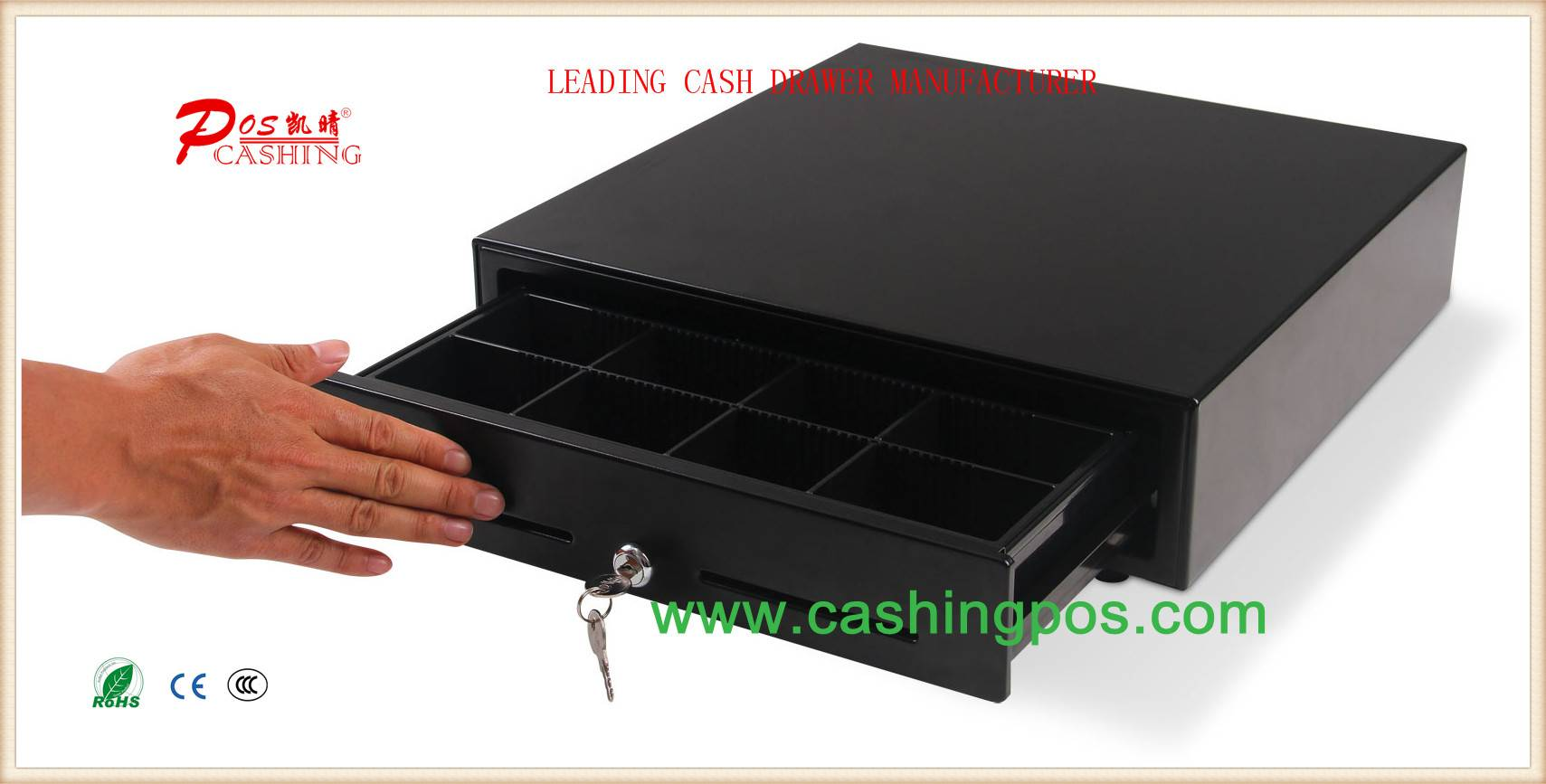 QT-410 Touch Cash Drawer