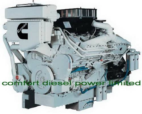 Cummins KT38-M/KTA38-M0/KTA38-M1/KTA38-M2 marine engine, used for high speed commercial boats.